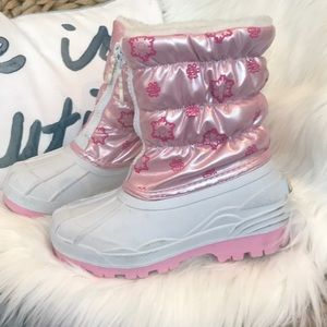 Little girls carter's snow boots